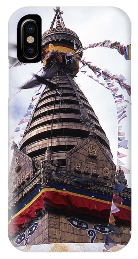 Swayambhunath IPhone Case featuring the photograph Swayambhunath by Patrick Klauss
