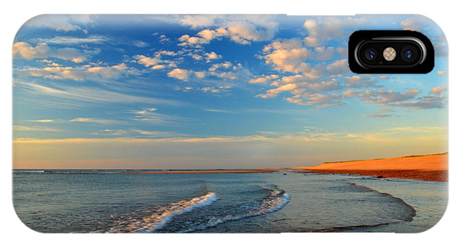 Ocean IPhone X Case featuring the photograph Sweeping Ocean View by Dianne Cowen