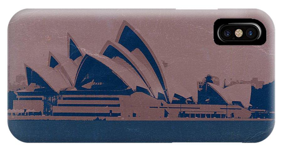 Sydney IPhone X Case featuring the photograph Sydney Australia by Naxart Studio