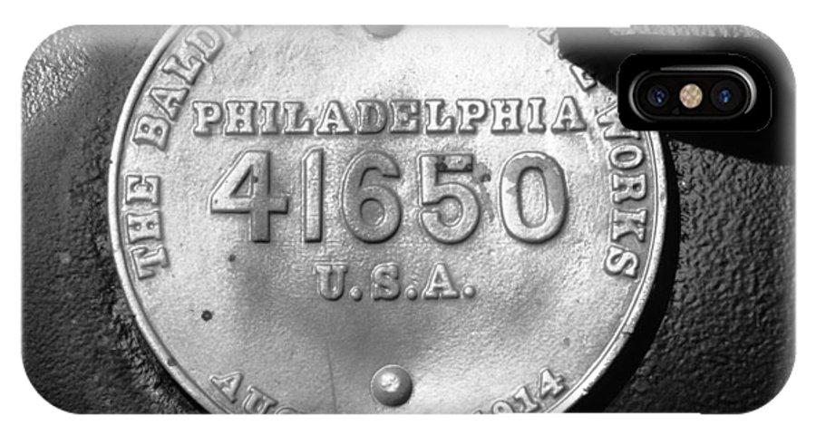 Baldwin Locomotive Works Philadelphia IPhone X Case featuring the photograph Symbol Of Pride by David Lee Thompson