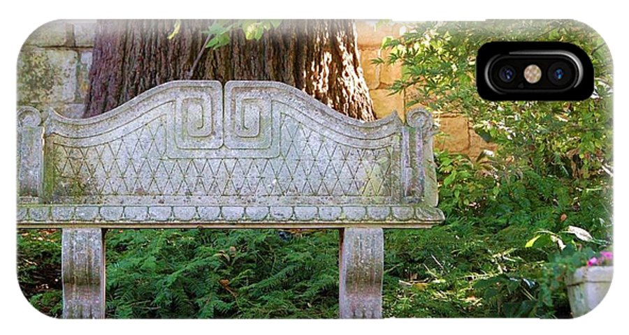 Bench IPhone Case featuring the photograph Take A Break by Debbi Granruth