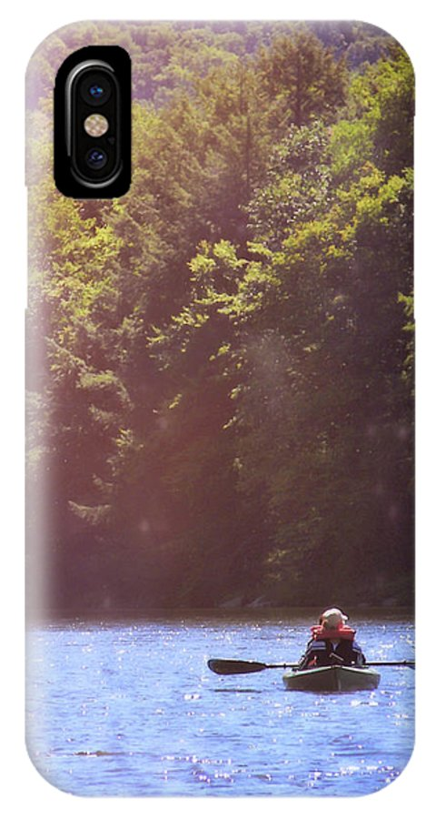 River IPhone X Case featuring the photograph Take Me There by JAMART Photography