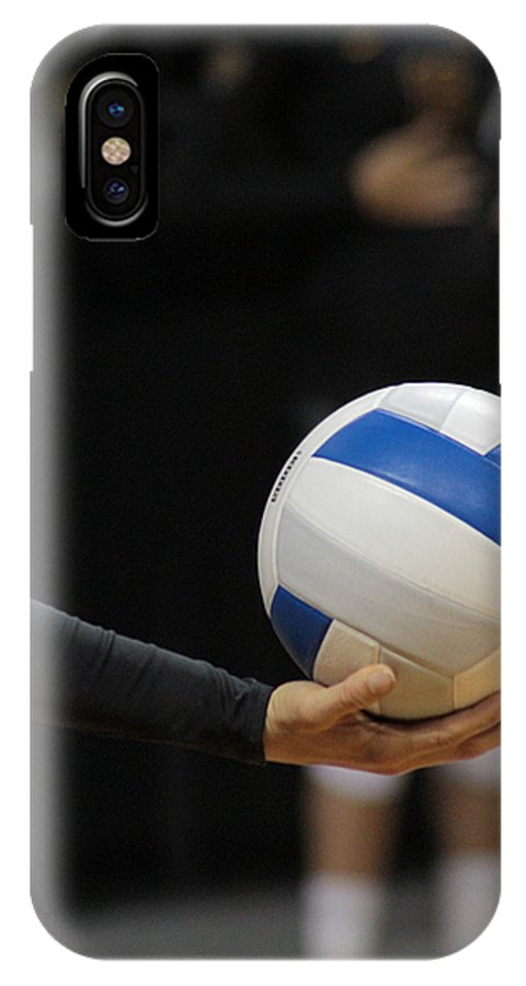 Ball IPhone X Case featuring the photograph Takeoff by Laddie Halupa