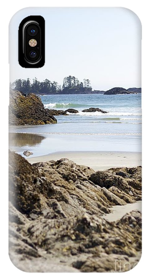 Tofino IPhone X Case featuring the photograph Long Beach Views by Alanna DPhoto