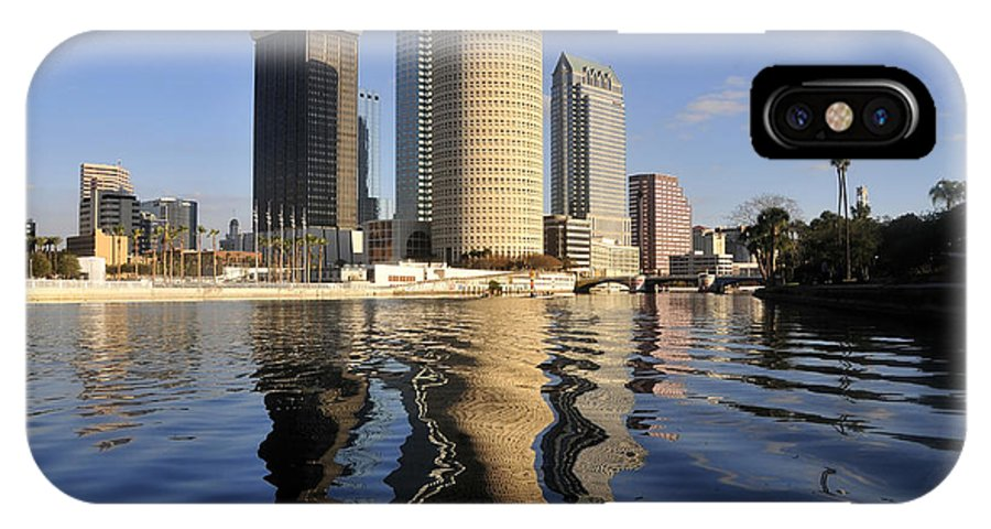 Tampa Bay Florida IPhone X Case featuring the photograph Tampa Florida 2010 by David Lee Thompson