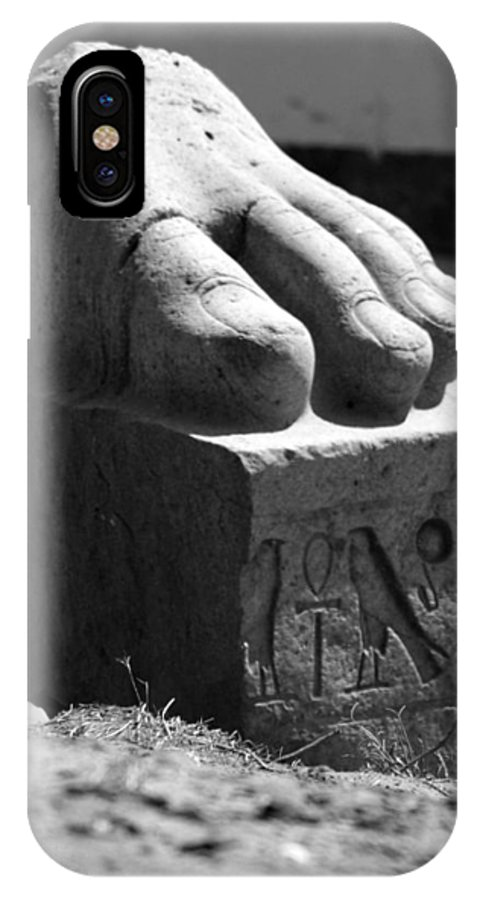 Tanis IPhone Case featuring the photograph Tanis Foot by Donna Corless
