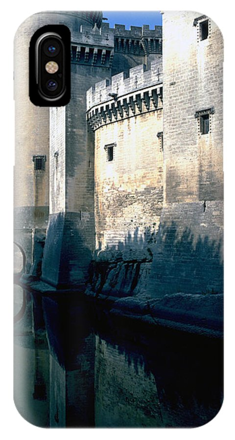 Tarragon France Castle IPhone X Case featuring the photograph Tarragon France by Flavia Westerwelle