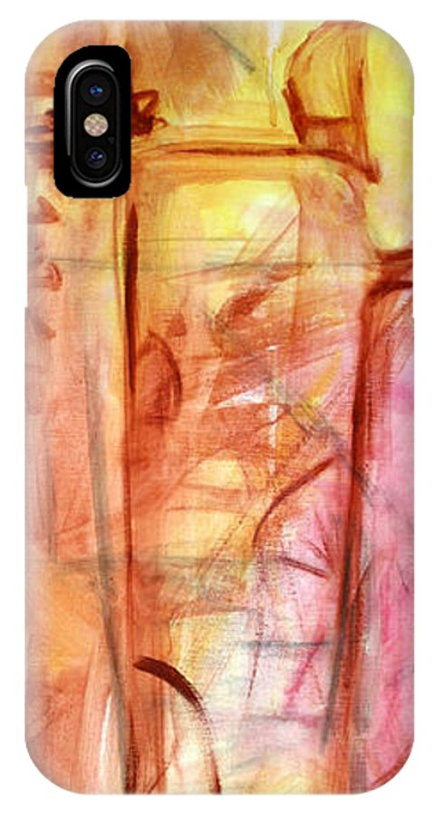 Tea IPhone Case featuring the painting Tea by Maryn Crawford