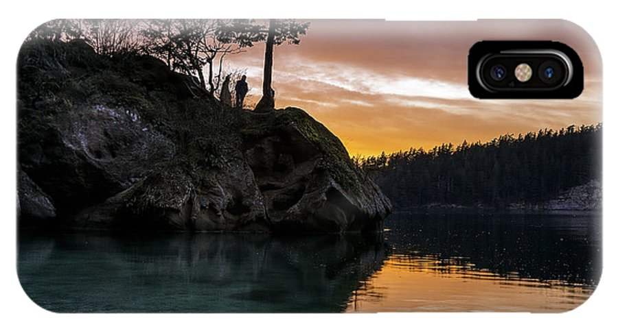 Teddy IPhone X Case featuring the photograph Teddy Bear Cove by Ryan McGinnis