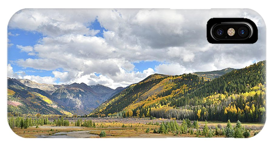 Colorado IPhone X Case featuring the photograph Telluride Natural Area by Ray Mathis