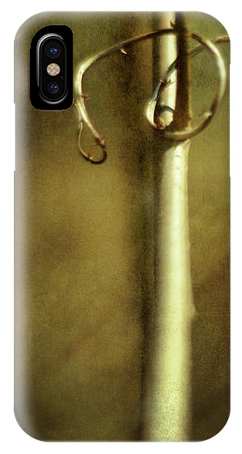 Vine IPhone X Case featuring the photograph Tendril by Rebecca Sherman