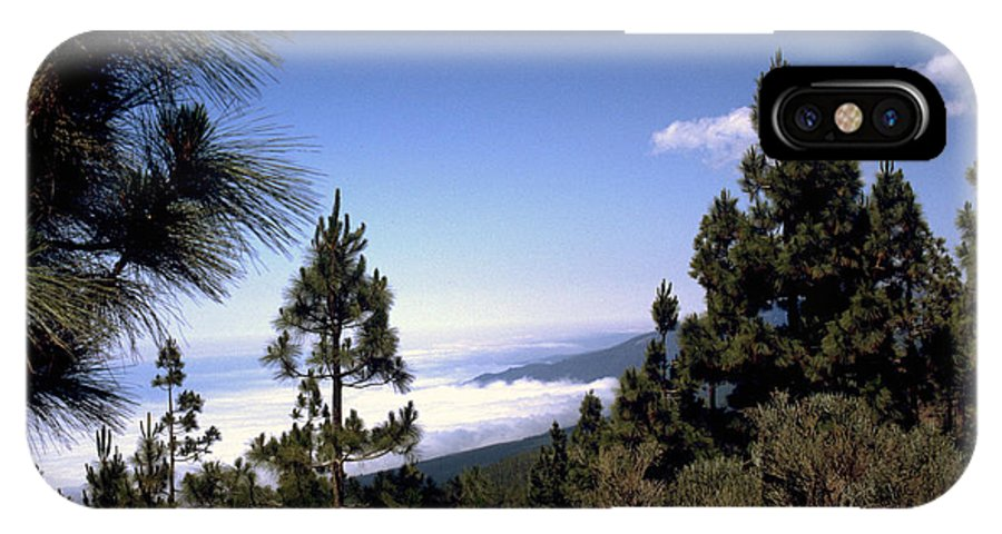 Tenerife IPhone X Case featuring the photograph Tenerife by Flavia Westerwelle