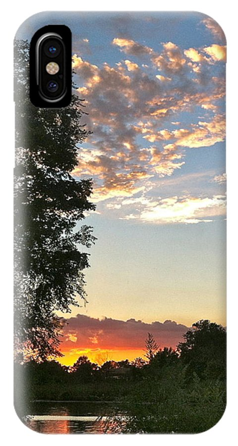 Sunset IPhone X Case featuring the photograph Tequila Sunset by Janice Petrella-Walsh