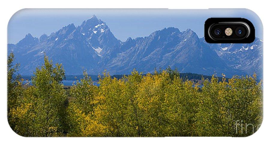 Teton IPhone Case featuring the photograph Teton Range by Idaho Scenic Images Linda Lantzy