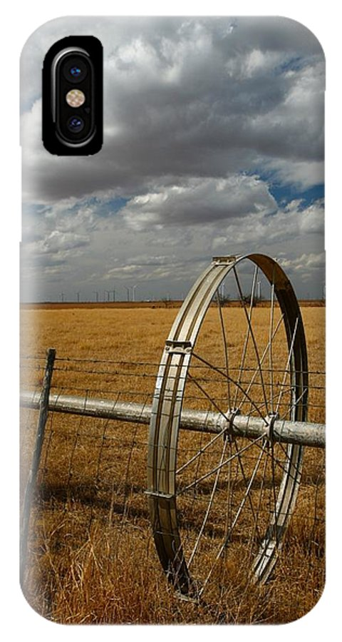 Texas IPhone X Case featuring the photograph Texas Farm by Chris Anthony