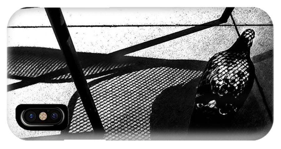 Street IPhone X Case featuring the photograph Texture by Abhishek Dasgupta