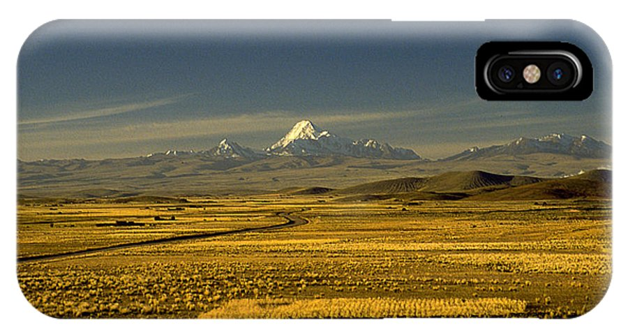 Latin America IPhone Case featuring the photograph The Andes by Michael Mogensen