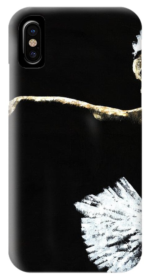 Ballet IPhone Case featuring the painting The Art Of Grace by Richard Young