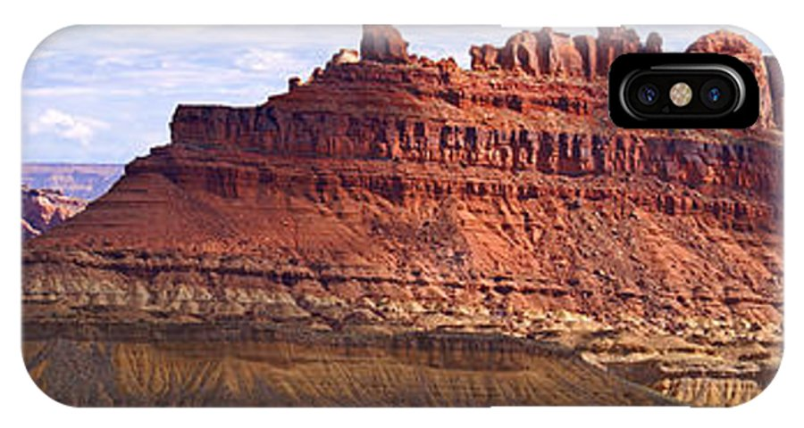 Landscape Utah IPhone X Case featuring the photograph The Battleship Utah by Heather Coen