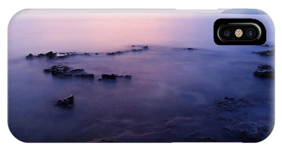 Sea IPhone X Case featuring the photograph The Beautiful Istrian Coastline by Ian Middleton