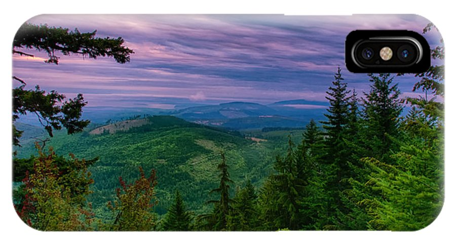 Olympic IPhone X Case featuring the photograph The Beautiful Olympic Mountains At Dawn - Olympic National Park, Washington by Mitch Spence