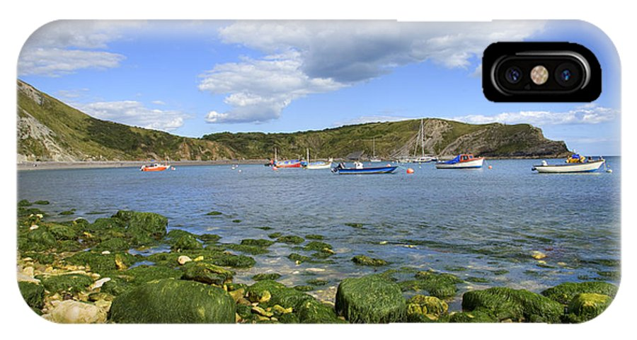 Dorset IPhone X Case featuring the photograph The Beauty Of Lulworth Cove by Ian Middleton