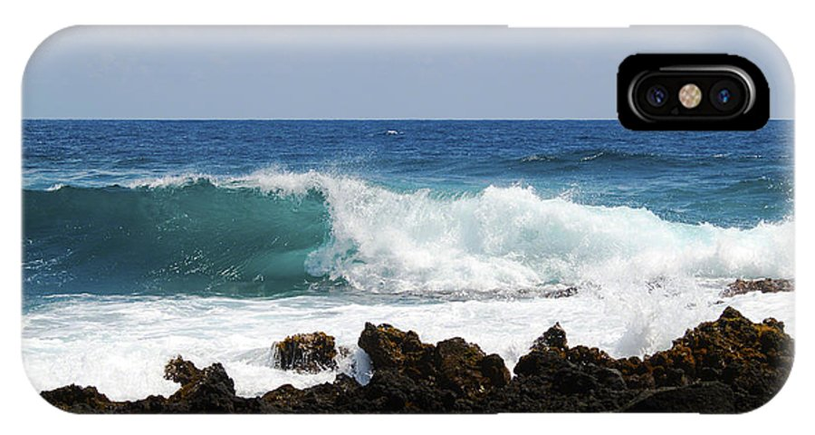 Fine Art Photography IPhone X Case featuring the photograph The Beauty Of The Sea by Patricia Griffin Brett