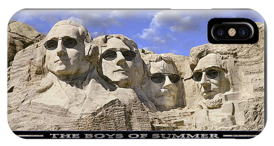Washington IPhone X Case featuring the photograph The Boys Of Summer by Mike McGlothlen