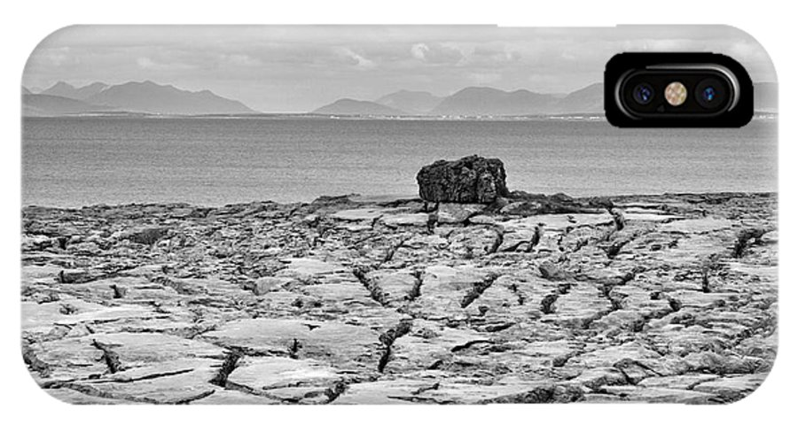 Ireland IPhone X Case featuring the photograph The Burren Landscape Ireland by Pierre Leclerc Photography