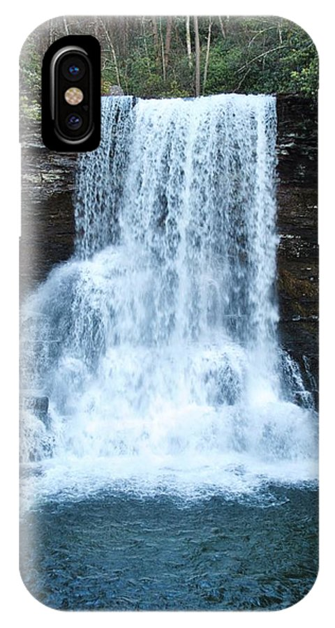 Cascades IPhone X Case featuring the photograph The Cascades by Eric Liller
