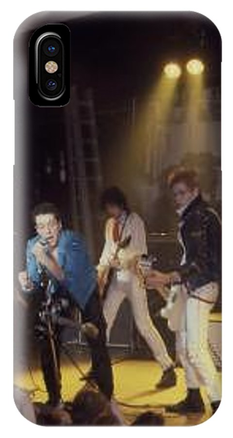 The Clash-london 1978 Photo By Dawn Wirth-copyrighted IPhone X / XS Case featuring the photograph The Clash-london - July 1978 by Dawn Wirth