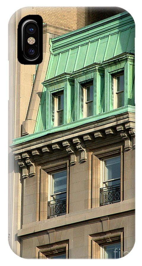 Apartments IPhone X / XS Case featuring the photograph The Copper Attic by RC DeWinter