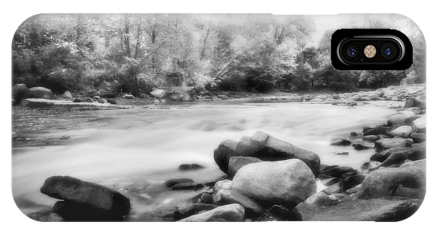 Bedford IPhone X Case featuring the photograph The Creek by Kenneth Krolikowski
