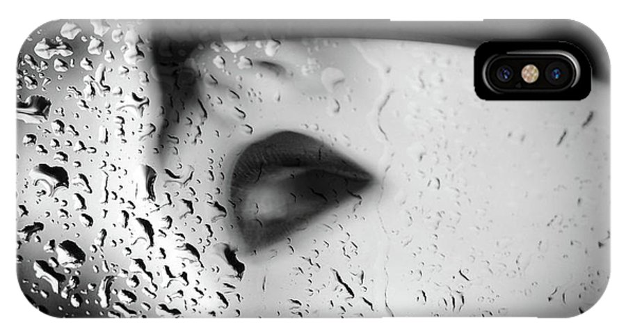 Portrait IPhone X Case featuring the photograph The Depth Of Self-delusion by Zapista