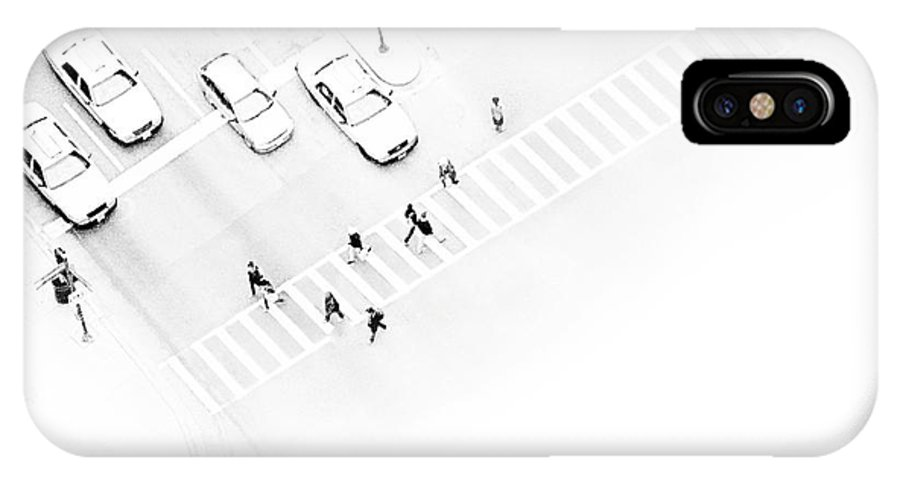 White IPhone Case featuring the photograph The Faceless by Dana DiPasquale