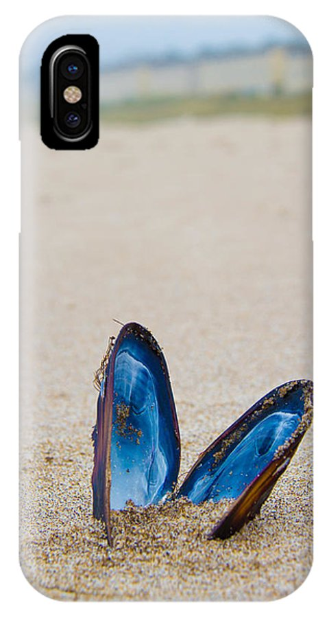 Clam IPhone X Case featuring the photograph The Final Show by Joshua Gray