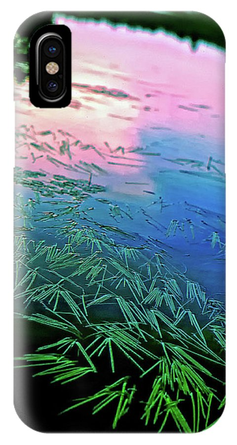 Wilderness IPhone X Case featuring the photograph The Flow by Steve Harrington