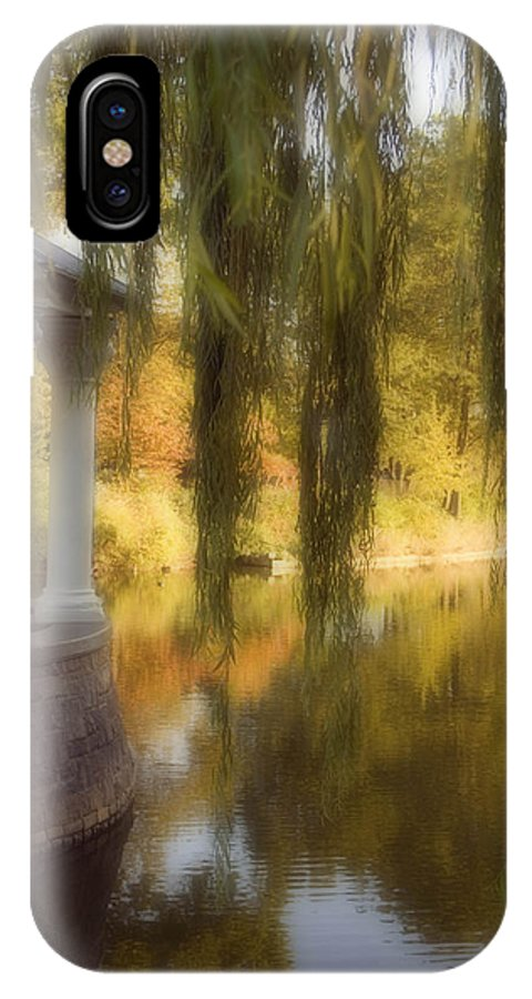 Water IPhone X Case featuring the photograph The Gazebo by Ayesha Lakes