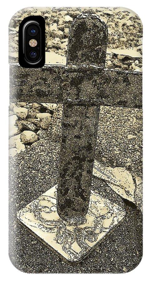 Deborah IPhone X Case featuring the photograph The Gift by Deborah Montana