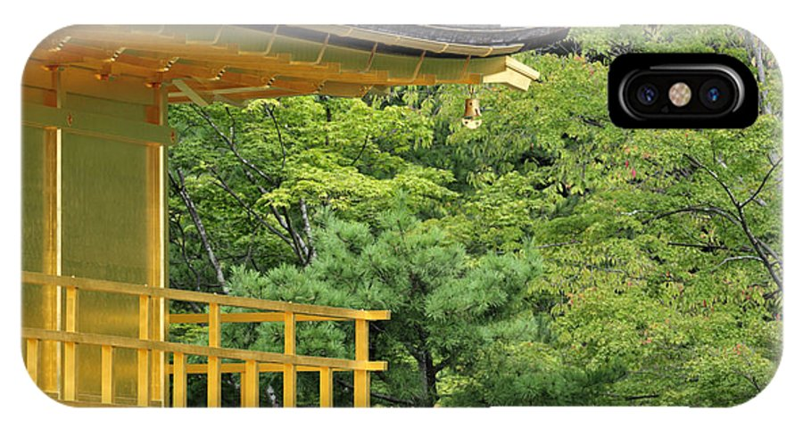 Kinkaku-ji IPhone X / XS Case featuring the photograph The Golden Temple by Andy Smy