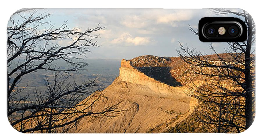 Mesa IPhone X Case featuring the photograph The Great Mesa by David Lee Thompson