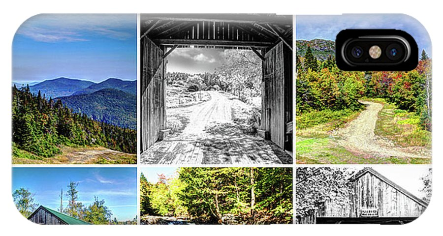 Fall IPhone X Case featuring the photograph The Green Mountain State by Deborah Klubertanz