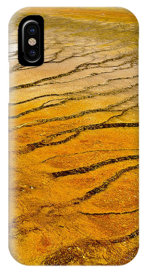 America IPhone X Case featuring the photograph The Groove by Andy-Kim Moeller