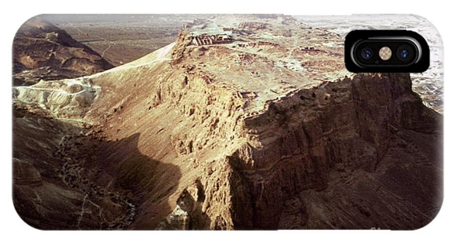 20th Century IPhone X Case featuring the photograph The Holy Land: Masada by Granger