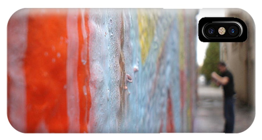 Urban Artwork IPhone X Case featuring the photograph The Layers Of Time by Chandelle Hazen