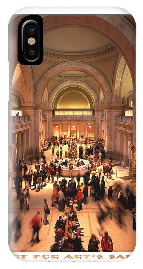 Metropolitan IPhone X / XS Case featuring the photograph The Metropolitan Museum Of Art by Mike McGlothlen