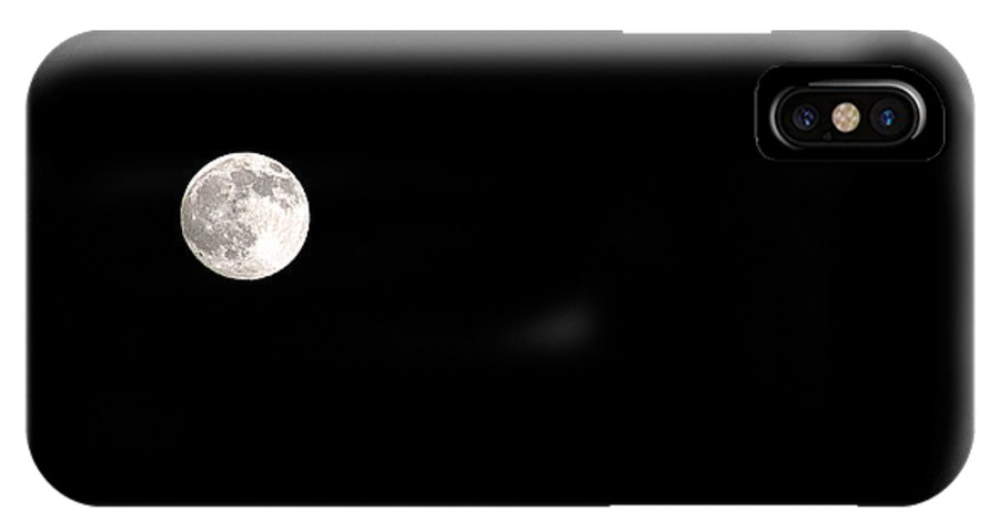Clay IPhone Case featuring the photograph The Moon by Clayton Bruster