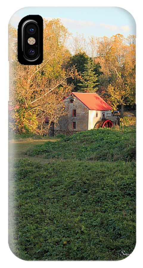Old Mill At Guilford IPhone X / XS Case featuring the photograph The Old Mill At Guilford by Suzanne Gaff