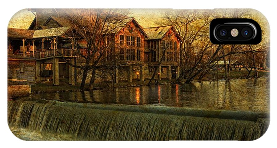 Landscape IPhone X / XS Case featuring the photograph The Old Mill by John Prickett