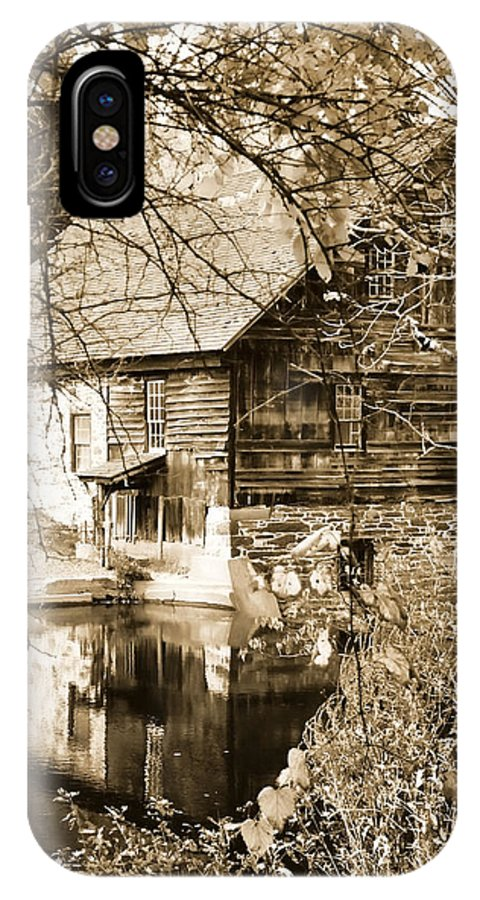 Old Mill IPhone X Case featuring the photograph The Old Mill by Michael Dorn